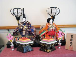 年間行事3月ひな祭りの雛人形